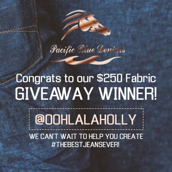 Congratulations to Our Denim Contest Winner!